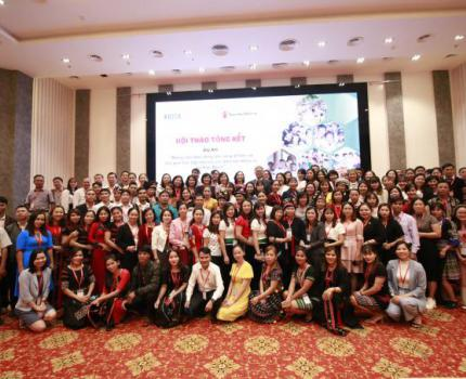 Enhancing school readiness and learning outcomes of ethnic minority children in Vietnam project dissemination workshop