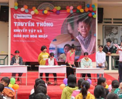 Communications event on Disabilities and Inclusive Education in Lao Cai