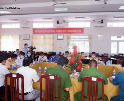 CONFERENCE ON MOBILIZATION OF COMMUNITY TASK FORCE SUPPORTING THE POLICE IN ENSURING ROAD SAFETY AT FOUR SCHOOLS