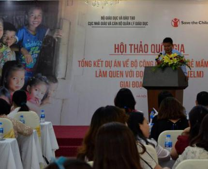 4,000 children benefited from Save the Children's pilot project