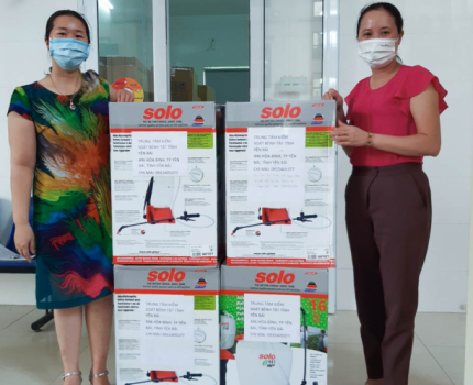 SAVE THE CHILDREN SUPPORTS YEN BAI HEALTH SECTOR IN COVID-19 PREVENTION